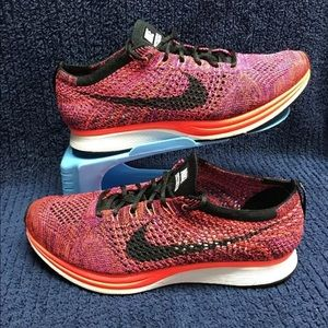 Nike Flyknit Racer Multicolor Size 7.5 Women's